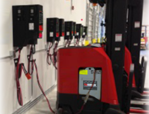 Electrical design for forklift chargers in Moreno Valley, Ca.