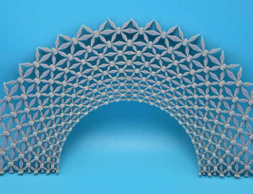 Engineers Design Flexible Material