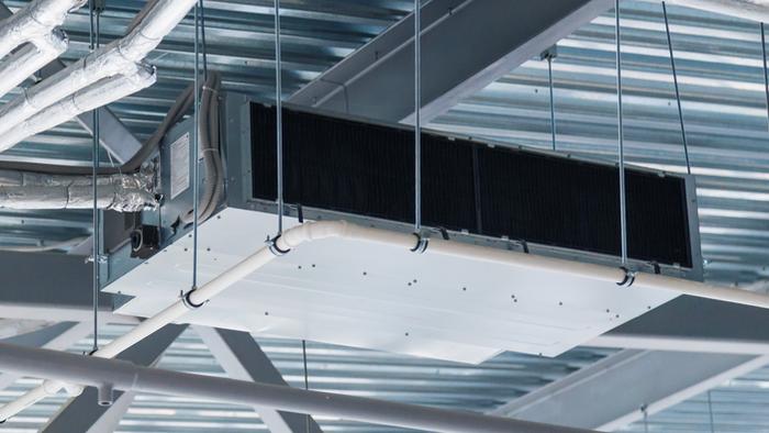 suspended ventilation system