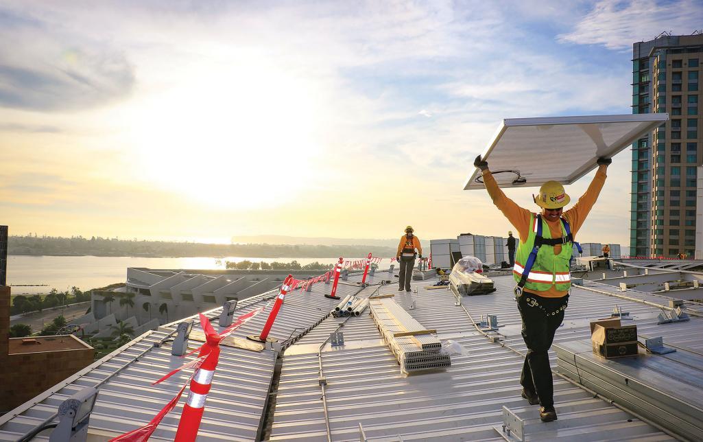 Electrical Contractor Sullivan Solar Power Petco Park